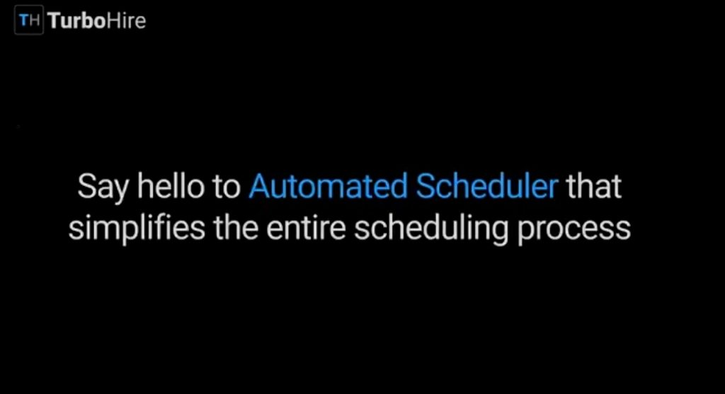 Automated Interview Scheduler - TurboHire