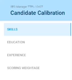 Candidate Calibration with TurboHire