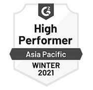 G2 - TurboHire - High Performer Asia Pacific Winter 2021